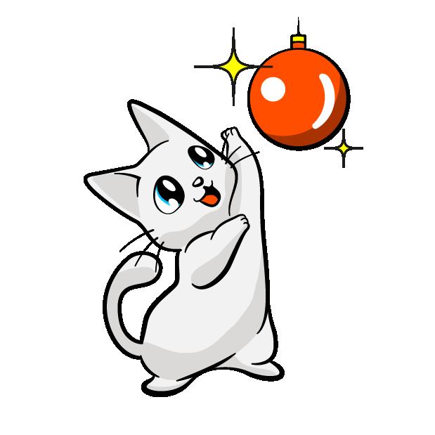 Manga Cats messages sticker-2
