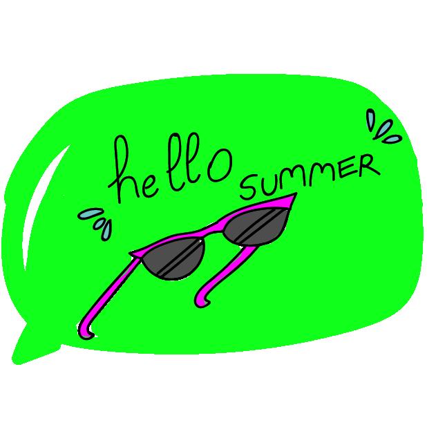 Lovely Summer messages sticker-7