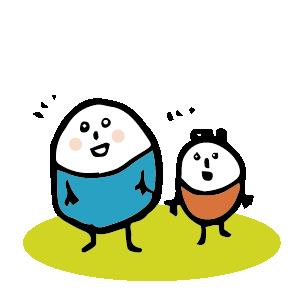 ほのぼのマンマルちゃん3 messages sticker-3