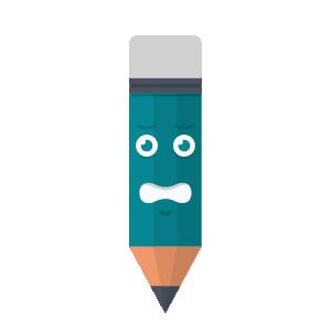 Pencil Felling Sticker messages sticker-2