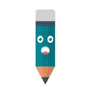 Pencil Felling Sticker messages sticker-5