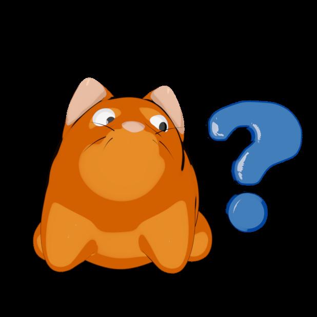 Scaredy Cat - Stickerpack messages sticker-6