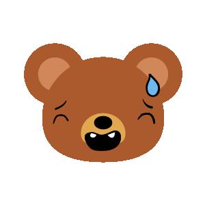 Bear Dry Sticker messages sticker-8