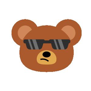 Bear Dry Sticker messages sticker-10