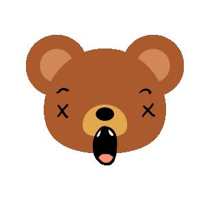 Bear Dry Sticker messages sticker-6
