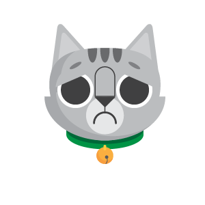 Gray Cat Bun Sticker messages sticker-7