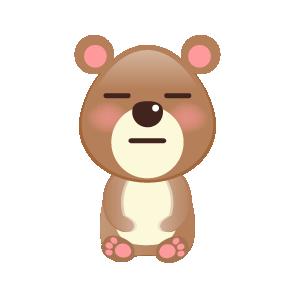 BaBy Bear Cute Sticker messages sticker-4