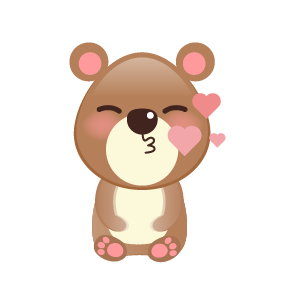 BaBy Bear Cute Sticker messages sticker-5