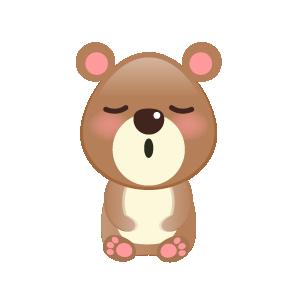 BaBy Bear Cute Sticker messages sticker-8