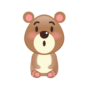 BaBy Bear Cute Sticker messages sticker-9