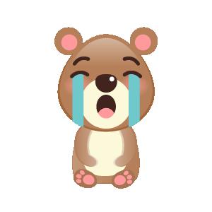 BaBy Bear Cute Sticker messages sticker-11