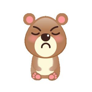 BaBy Bear Cute Sticker messages sticker-6