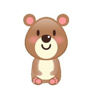 BaBy Bear Cute Sticker messages sticker-1