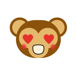 Monkey BaBy Lovely Sticker messages sticker-8