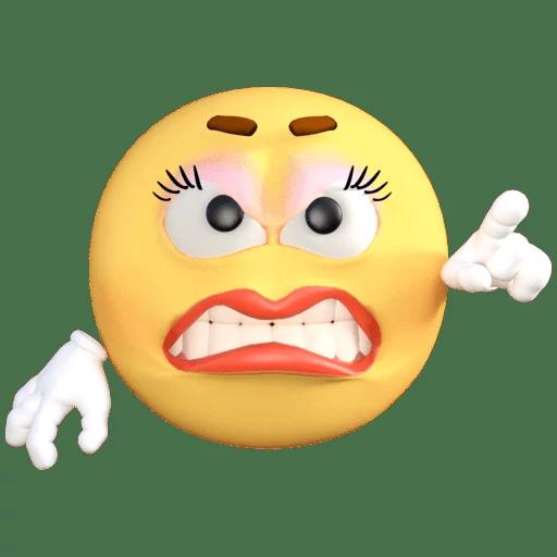 Emoji Old School messages sticker-5