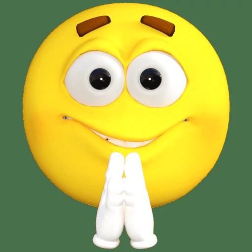 Emoji Old School messages sticker-11