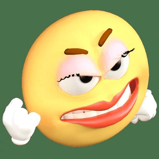 Emoji Old School messages sticker-1