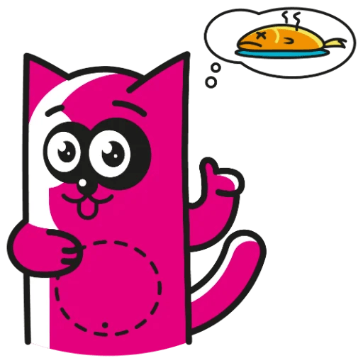 Pinky Cat Stickers messages sticker-7