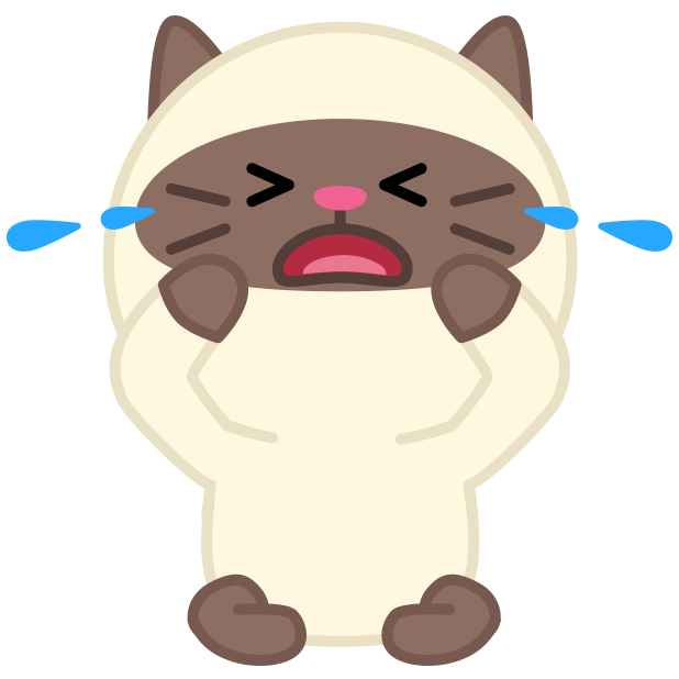 Cute baby cat ver.sadness messages sticker-4