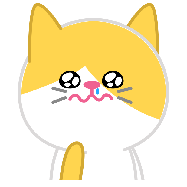 Cute baby cat ver.sadness messages sticker-8