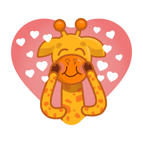 Alfie The Giraffe - Stickers messages sticker-11