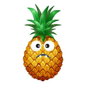 Pineapple Active Sticker messages sticker-7