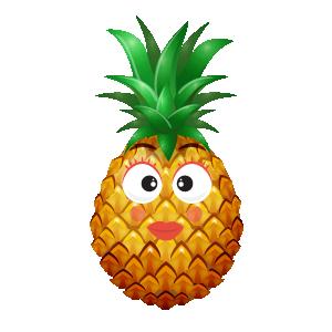 Pineapple Active Sticker messages sticker-10