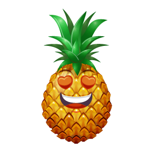 Pineapple Active Sticker messages sticker-2
