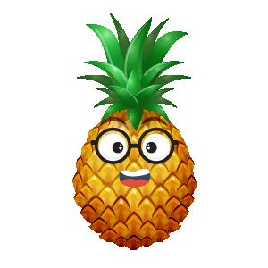 Pineapple Active Sticker messages sticker-4
