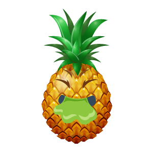 Pineapple Active Sticker messages sticker-0