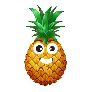 Pineapple Active Sticker messages sticker-11