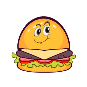 Hambuger Feeling Sticker messages sticker-2