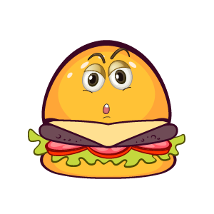 Hambuger Feeling Sticker messages sticker-4