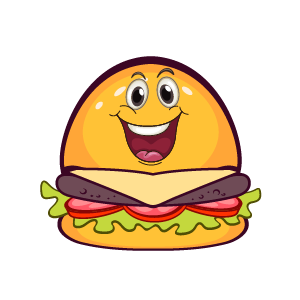Hambuger Feeling Sticker messages sticker-10