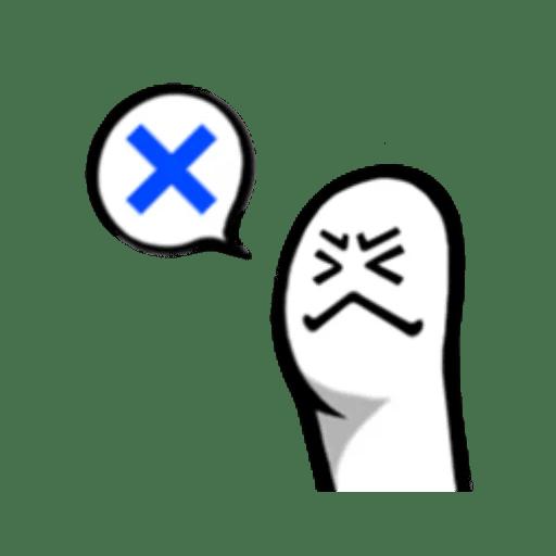 Fingerface ArtWork Stickers messages sticker-2
