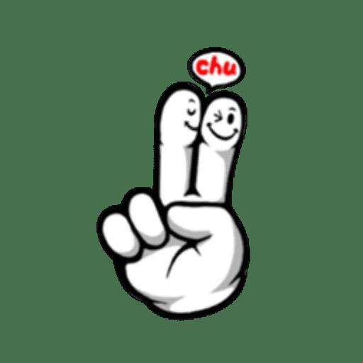 Fingerface ArtWork Stickers messages sticker-8