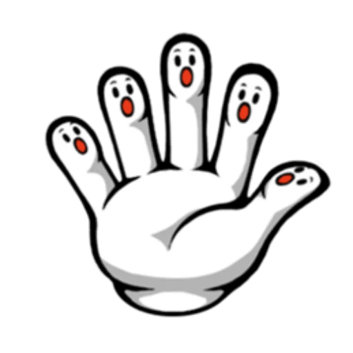 Fingerface ArtWork Stickers messages sticker-7