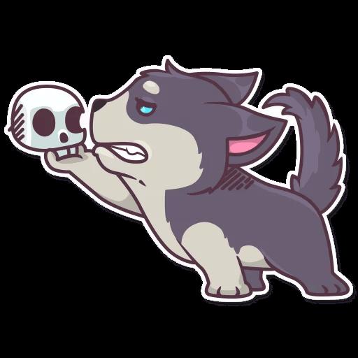 My Cute HuskyBoy messages sticker-2