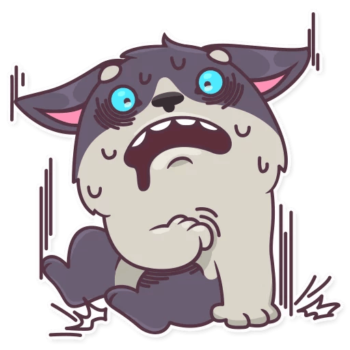 My Cute HuskyBoy messages sticker-10