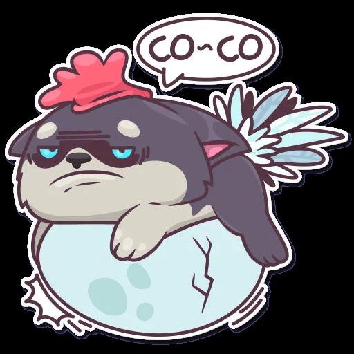My Cute HuskyBoy messages sticker-5