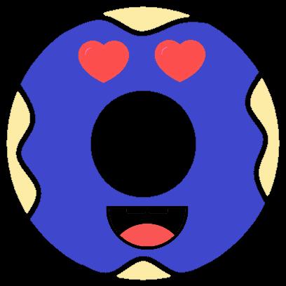 Powder Donut Co Stickers messages sticker-2