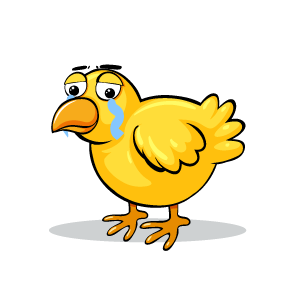 Chicken Emotion Sticker messages sticker-8