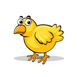 Chicken Emotion Sticker messages sticker-1