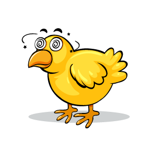 Chicken Emotion Sticker messages sticker-2
