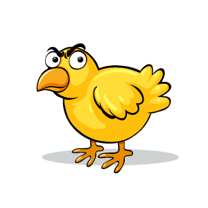 Chicken Emotion Sticker messages sticker-0