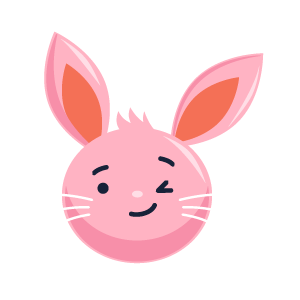 Rabbit Envious Sticker messages sticker-7