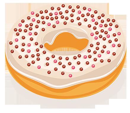 Donut Sticker Pack messages sticker-3