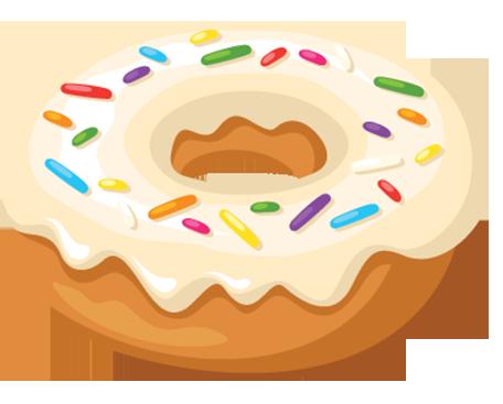 Donut Sticker Pack messages sticker-8