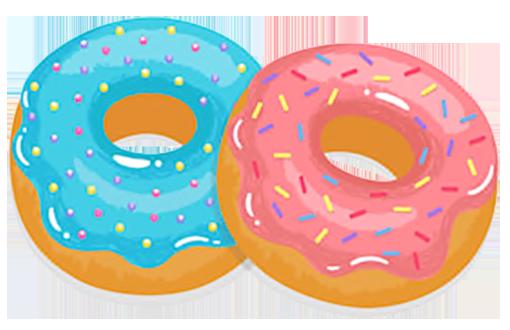 Donut Sticker Pack messages sticker-9