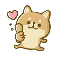 Lovely Akita Dog Emoji messages sticker-2